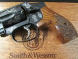 Smith & Wesson Model 442 Centennial AirWeight Engraved .38 Special - 6 of 10