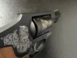 Smith & Wesson Model 442 Centennial AirWeight Engraved .38 Special - 10 of 10