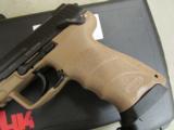 HECKLER & KOCH HK45 HK TACTICAL H&K TAN FDE .45 ACP 745001TT-A5 - 5 of 7