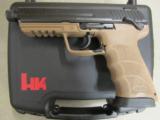 HECKLER & KOCH HK45 HK TACTICAL H&K TAN FDE .45 ACP 745001TT-A5 - 2 of 7