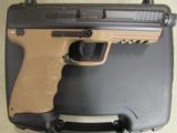 HECKLER & KOCH HK45 HK TACTICAL H&K TAN FDE .45 ACP 745001TT-A5 - 1 of 7