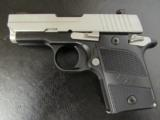 Sig Sauer P938 AG Stainless Pocket 9mm 938-9-AG-AMBI - 1 of 8