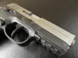 FN FNH-USA FNX-40 Bi-Tone Stainless Slide .40 S&W - 7 of 9