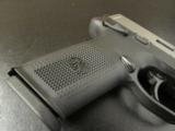 FN FNH-USA FNX-40 Bi-Tone Stainless Slide .40 S&W - 3 of 9