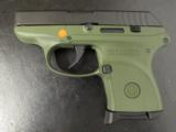 Dealer Exclusive Ruger LCP OD Green Frame .380 ACP - 1 of 8