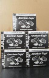 500 ROUNDS FEDERAL AMERICAN EAGLE .223 REMINGTON - 2 of 3