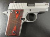 Sig Sauer P238 HDW Stainless Wood Grips .380 ACP/AUTO - 3 of 6