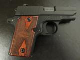 Sig Sauer P238 Rosewood Grip .380 ACP/AUTO 238-380-RG - 1 of 8