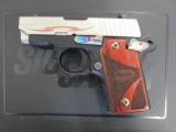 Sig Sauer P238 Rainbow/Nickel Tribal .380 ACP/AUTO - 3 of 8