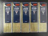 500 ROUNDS CCI MINI-MAG .22 LR 22LR CP HP - 1 of 4
