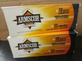 1000 ROUNDS ARMSCOR COPPER PLATED .22LR 22 LR HP - 3 of 3