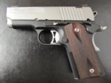 Sig Sauer 1911 Compact Ultra Two-Tone .45 ACP - 1 of 7
