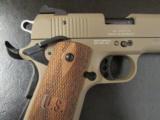 Sig Sauer 1911-22 FDE Wood Grips .22LR 22 LR - 1 of 8