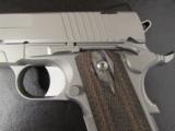 Sig Sauer Full-Size Stainless 1911 with Rail .45 ACP - 1 of 8