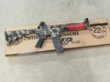 Smith & Wesson M&P15-22 Tan & Black Camo Semi-Auto .22LR - 1 of 7