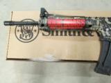 Smith & Wesson M&P15-22 Tan & Black Camo Semi-Auto .22LR - 4 of 7