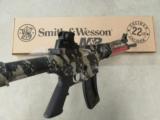 Smith & Wesson M&P15-22 Tan & Black Camo Semi-Auto .22LR - 7 of 7