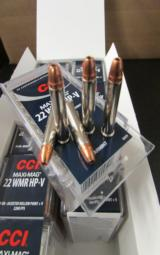 500 ROUNDS CCI MAXI-MAG HP+V 30 GR .22 MAG .22 WMR - 1 of 3