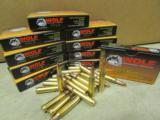 1000 ROUNDS WOLF WPA GOLD BRASS CASE .223 REM 223 - 2 of 3