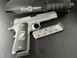 Sig Sauer Stainless 1911 POW-MIA .45 ACP with Knife & Storm Case - 1 of 10