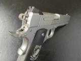 Sig Sauer Stainless 1911 POW-MIA .45 ACP with Knife & Storm Case - 7 of 10