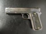 Colt Model 1903 Pocket Hammer Early Round Hammer 38 Rimless 22494 - 2 of 12