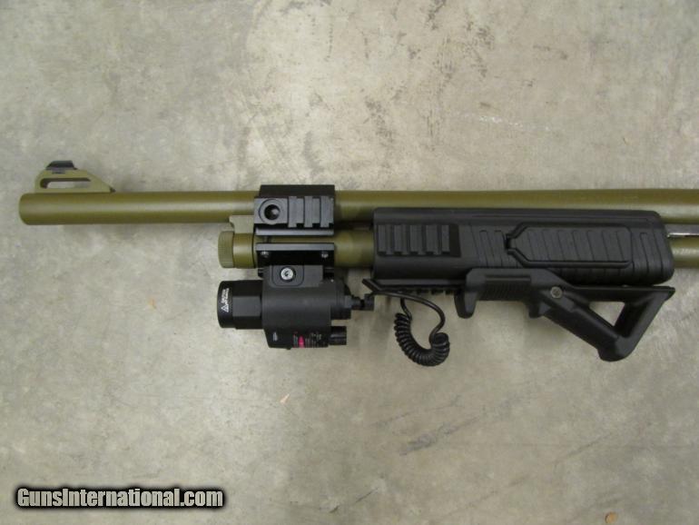 Mossberg Flex 500 Tactical OD Green 12 Gauge Package