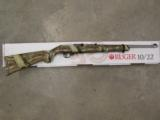 Ruger 10/22 Mossy Oak Camo & Stainless Exclusive .22 LR 1260 - 1 of 9