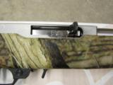 Ruger 10/22 Mossy Oak Camo & Stainless Exclusive .22 LR 1260 - 7 of 9