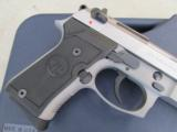 Beretta 92 FS Compact INOX (Stainless) USA Made 9mm J90C9F20 - 4 of 9