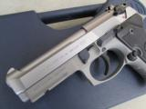 Beretta 92 FS Compact INOX (Stainless) USA Made 9mm J90C9F20 - 5 of 9