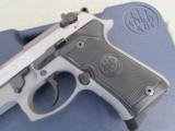 Beretta 92 FS Compact INOX (Stainless) USA Made 9mm J90C9F20 - 3 of 9