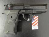 Beretta 92 FS Compact Black USA Made 9mm - 2 of 8