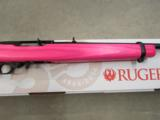 Ruger Distributor Exclusive Pink Laminate Stock 10/22 .22LR - 8 of 8