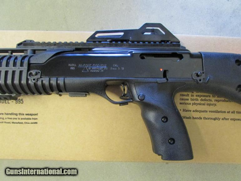 HI-POINT 995TS TACTICAL STOCK 9MM LUGER CARBINE