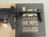 H&K MP5 A5 Semi-Auto .22 LR Walther of Germany Clone - 3 of 8