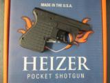 Heizer Defense PS1 Pocket Shotgun .410 & .45 Colt Pistol PS1