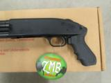 Mossberg 500 ZMB Chainsaw Tactical Light/Laser 12 Gauge - 6 of 7