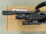 Mossberg 500 ZMB Chainsaw Tactical Light/Laser 12 Gauge - 3 of 7