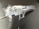 Magnum Research Desert Eagle Polished Chrome Muzzle Brake .50 AE - 8 of 8
