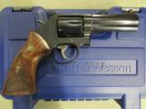 "Smith & Wesson Model 586 Blued 4"" .357 Magnum 150909"