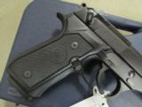 Beretta USA M9 (Mil-Spec 92FS) Commercial Semi-Auto 10 Round 9mm J92M9AO - 3 of 8