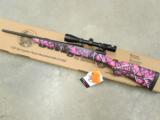 Savage Model 11 Trophy XP Hunter Youth Muddy Girl Pink 7mm-08 Rem.