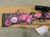 Savage Model 11 Trophy XP Hunter Youth Muddy Girl Pink 7mm-08 Rem. - 6 of 8