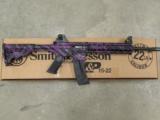 Smith & Wesson M&P15-22 Purple Platinum .22 LR 10041 - 2 of 7