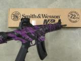 Smith & Wesson M&P15-22 Purple Platinum .22 LR 10041 - 7 of 7