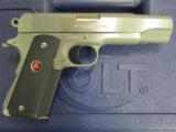 Colt Delta Elite Government MKIV 1911 Stainless 10mm 02020