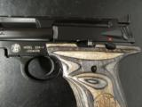 Smith & Wesson 22A with Laminate Over-Sized Grips .22 LR - 1 of 8