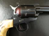 Beautiful 1957 Ruger Blackhawk Flattop .44 Magnum with Stag Grips - 4 of 10