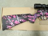 Savage Model 93R17 Muddy Girl Pink Camo with Scope .17 HMR 96208 - 5 of 8
